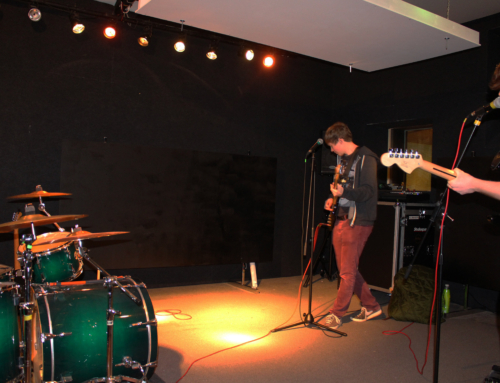 WE HAVE JOINED UK MUSIC'S REHEARSAL SPACE PROJECT.