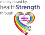 Money raised by Health Strength through the Halth Lottery