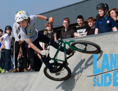 LANDSLIDE TEAMS UP WITH HARWICH SKATEPARK – EVENT 6 JULY